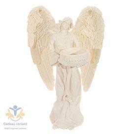 Engel waxinelicht houder