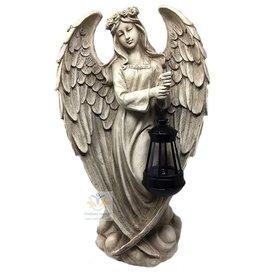 Engel groot met lantaarn