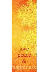 Zintenz Boekenlegger Love peace