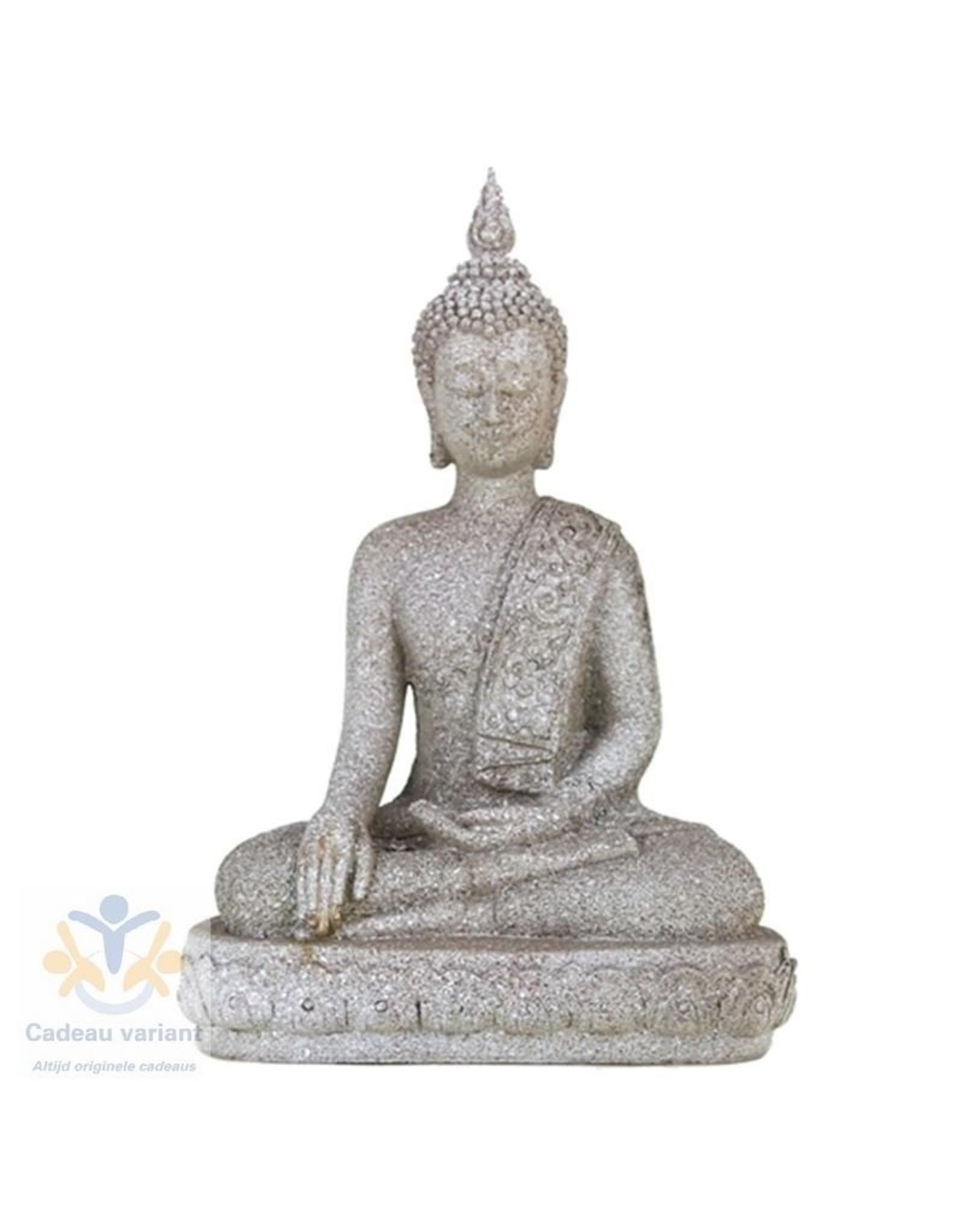 Boeddha beeld handreiking aarde