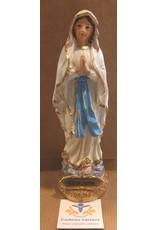 Maria Lourdes beeld 15 cm