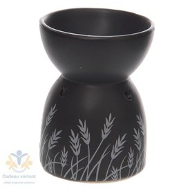 Geurbrander zwart keramiek