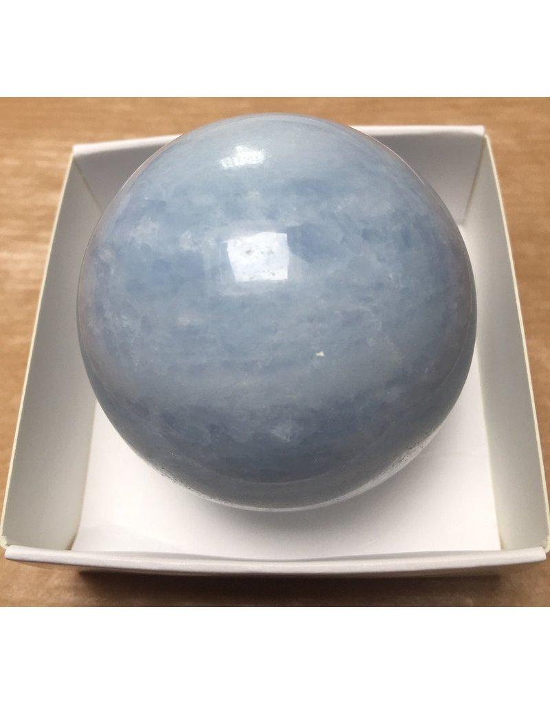 Calciet blauw bol 5 cm