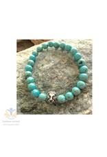 Turkoois (Turquoise) heren armband