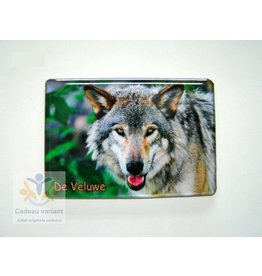 Wolf Veluwe magneet