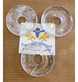 Bergkristal donut hanger 3 cm