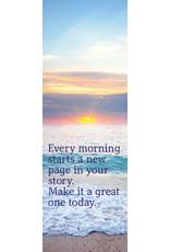 Zintenz Boekenlegger Each morning starts a new page