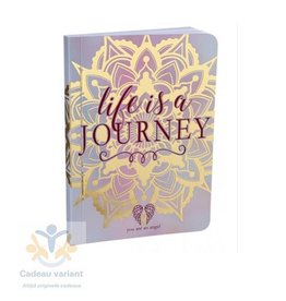 Notitieboek life is a journey