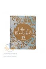 Notitieboek life is beautiful