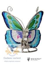 New Dutch Vlinder Tiffany theelichthouder