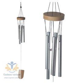 Windgong hout en metaal 37 cm