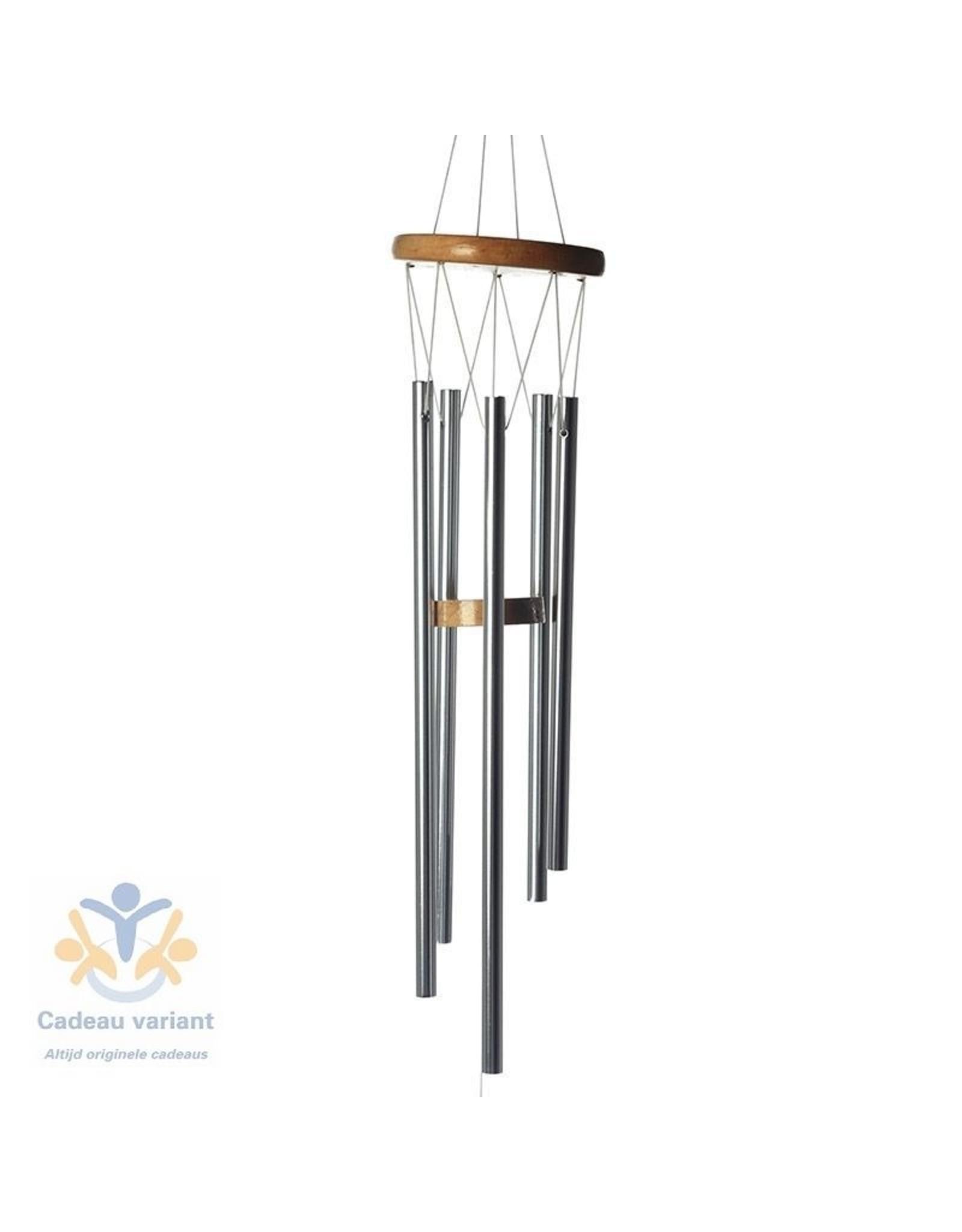 Windgong hout en metaal 88 cm