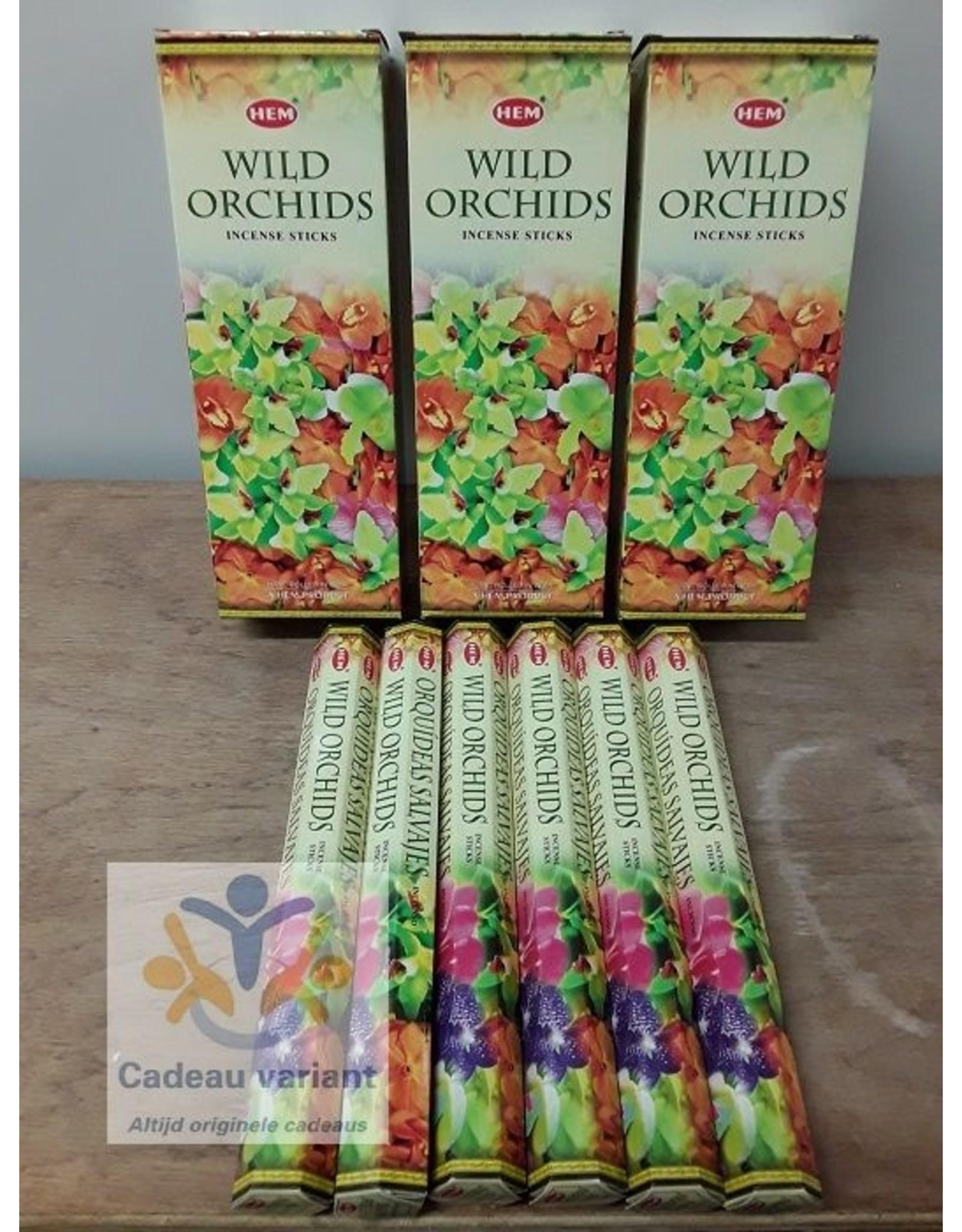 HEM Wild orchids wierook Hem