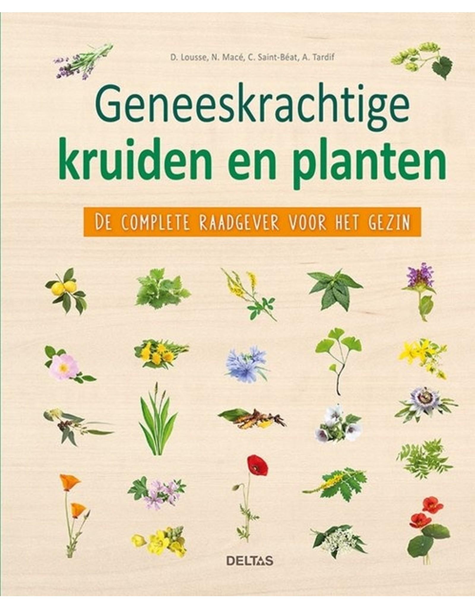 Deltas Geneeskrachtige kruiden en planten boek