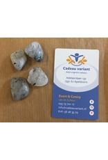 Toermalijnkwarts edelsteen 5-10 gram