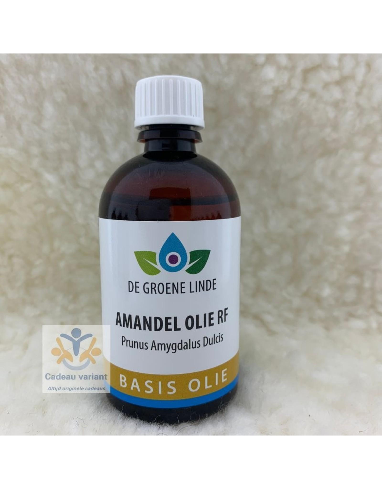 De Groene Linde Amandel olie RF 100 ml