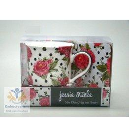 Jessie Steele cadeaset roos met dots