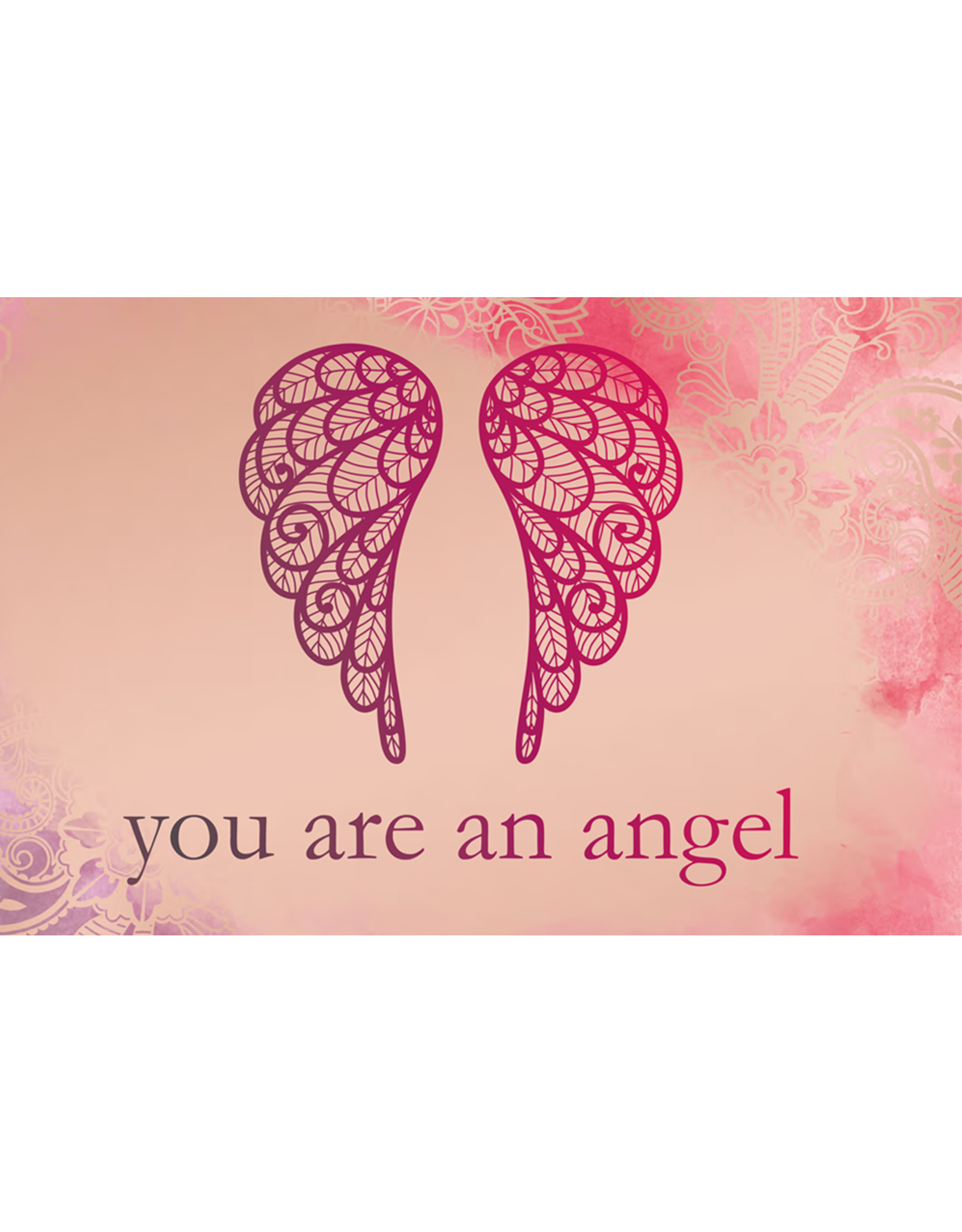 You are an angel Notitieboek Be happy