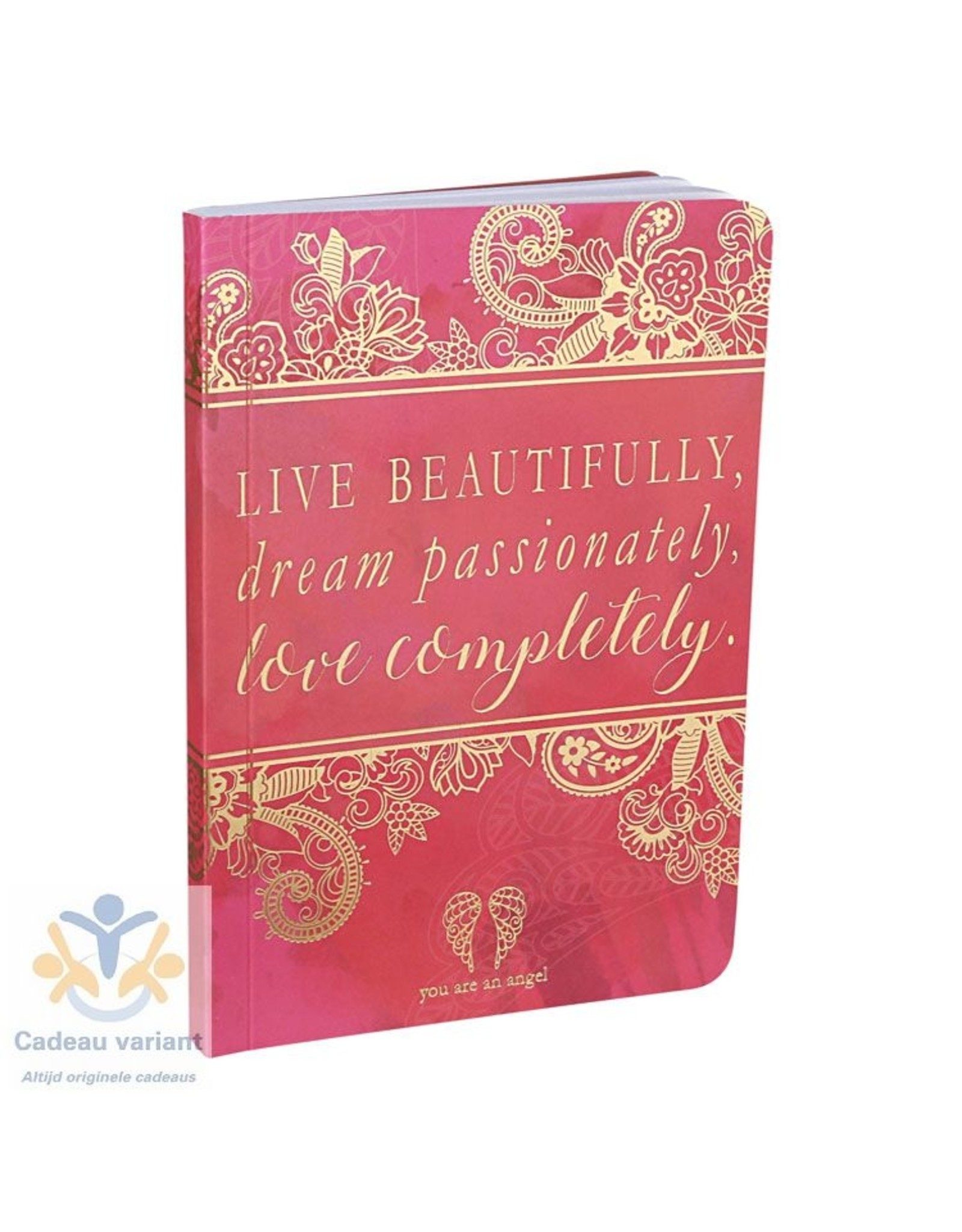 You are an angel Notitieboek live beautifully