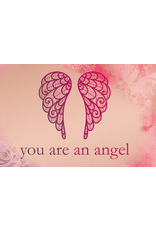 You are an angel Engel pin sparkle and shine