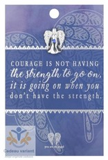 You are an angel Engel pin courage (moed)