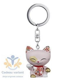 Mani the lucky cat Mani the Lucky Cat sleutelhanger cat030