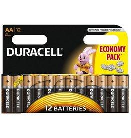 Duracell batterijen Duracell basic duralock penlite AA  12pak