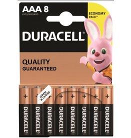 Duracell batterijen Duracell basic duralock potloodcel AAA 8 pak