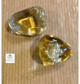 Citrien natuur trommelsteen  13 gram