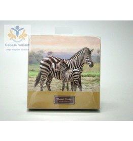 Leonardo collectie Zebra onderzetters