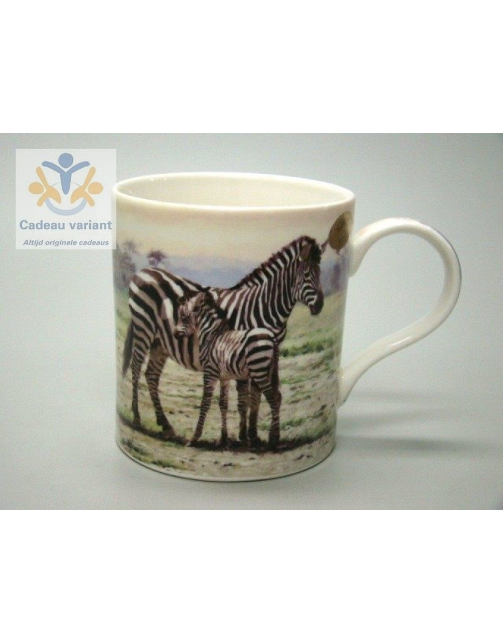 Leonardo collectie Zebra mok