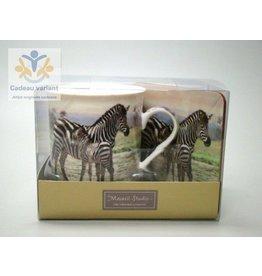 Leonardo collectie Zebra cadeauset