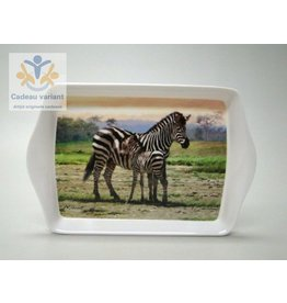 Leonardo collectie Zebra dienblad klein