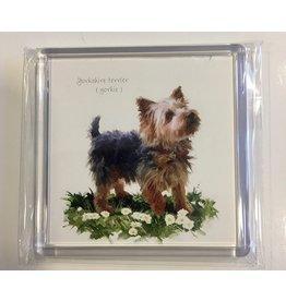 Yorkshire Hond magneet