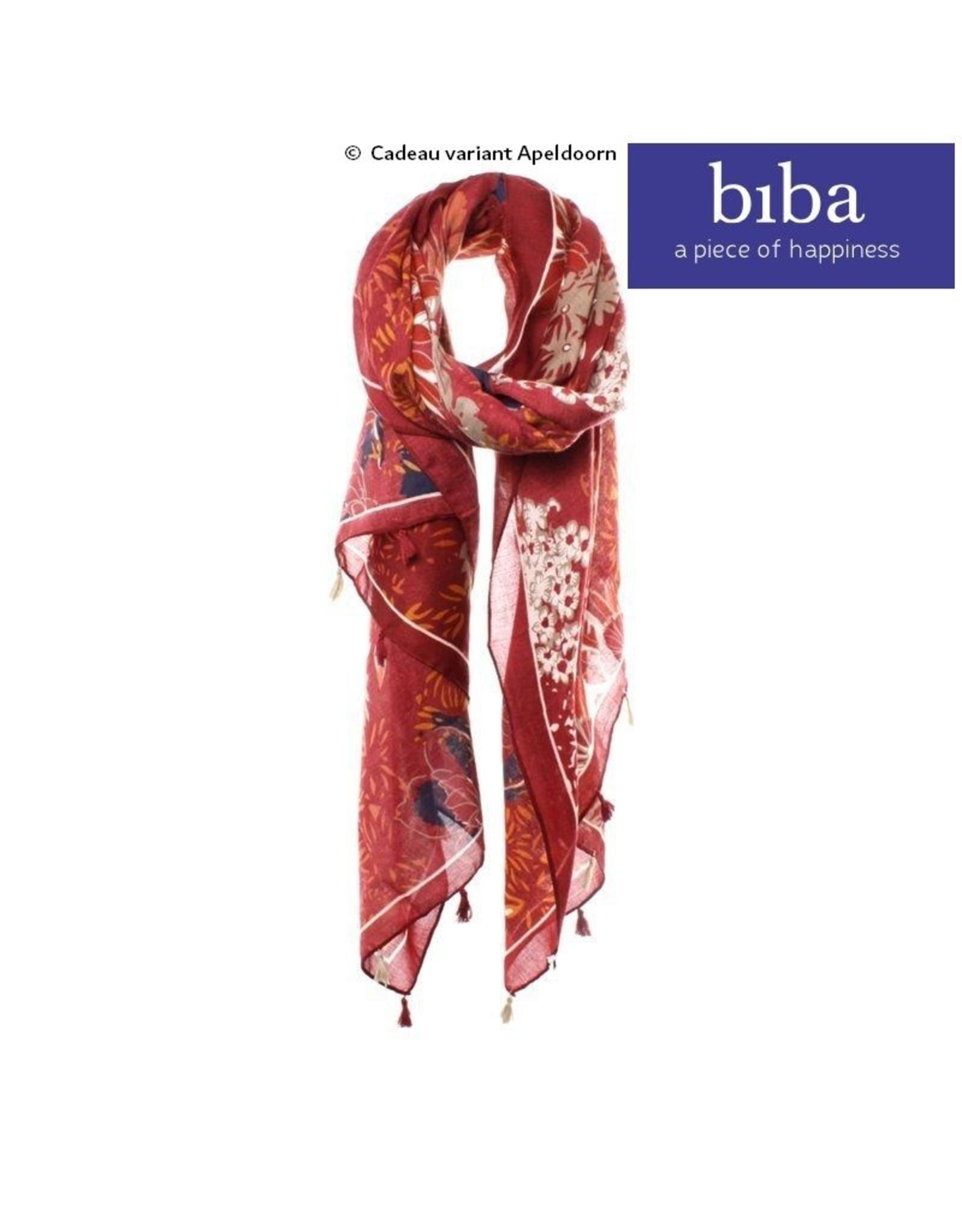 Biba Biba sjaal 73108 rood