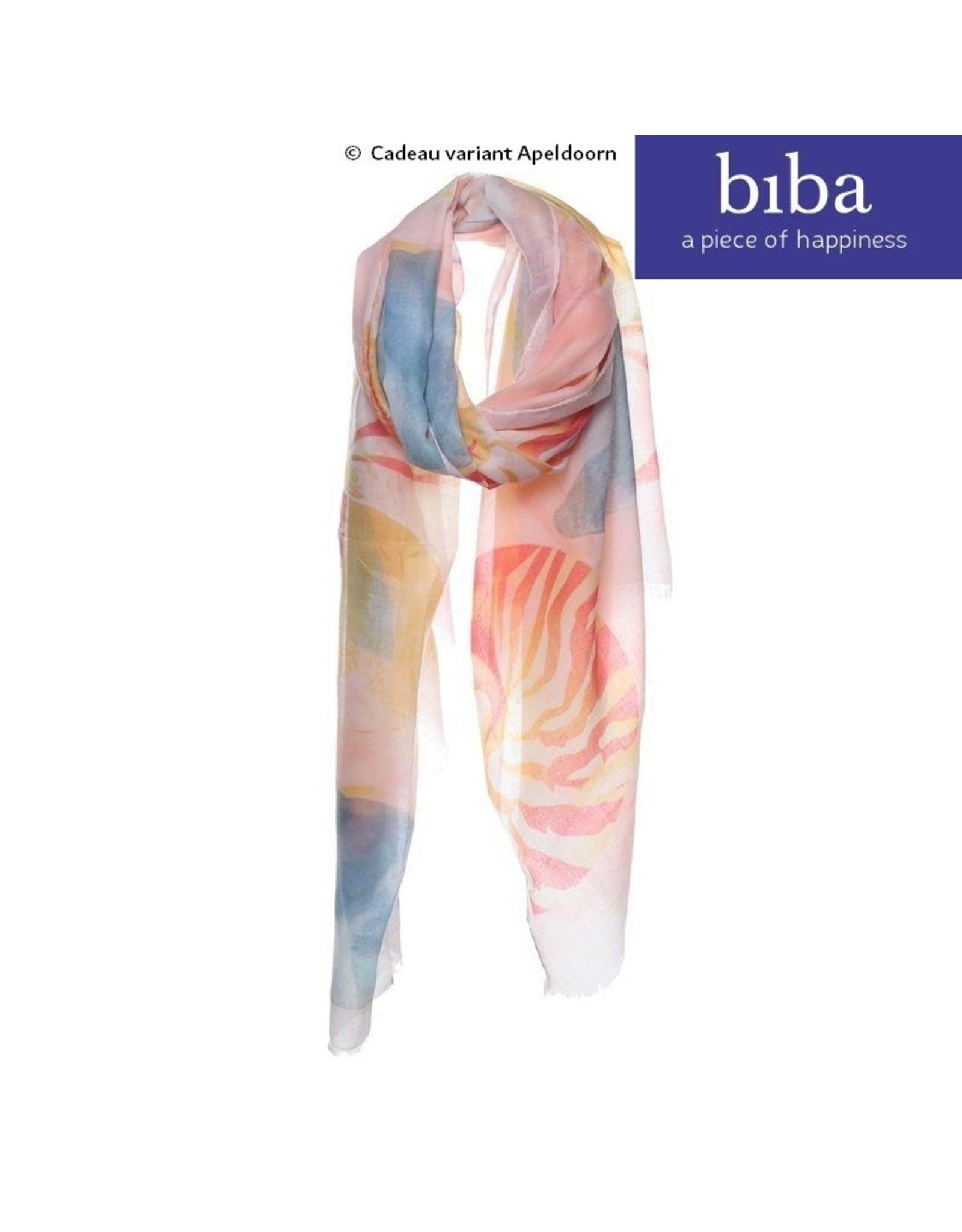 Biba Biba sjaal 73135 prachtige pasteltinten