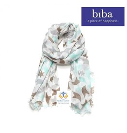 Biba Biba sjaal 72698 sterren pastel
