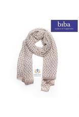 Biba Biba sjaal 72891 crème bruin