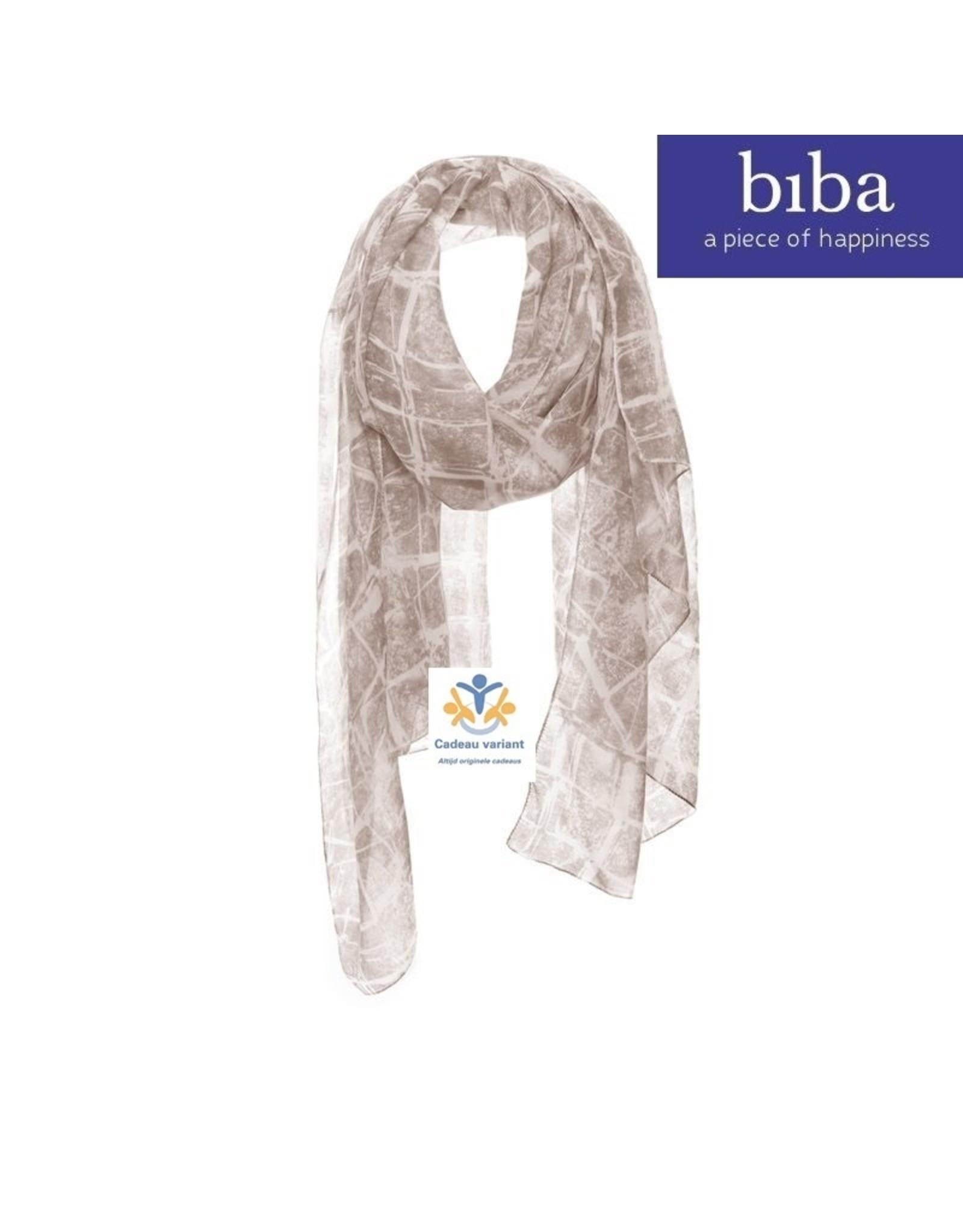Biba Biba sjaal 73155 beige bruin