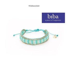 Biba Armband Biba slider turkoois