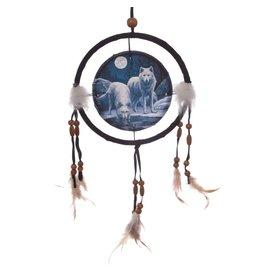 Lisa Parker Dromenvanger 2 wolven 16 cm