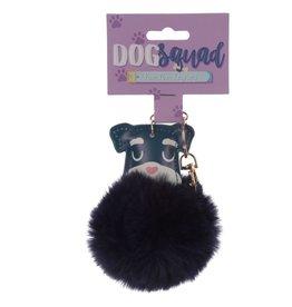 Sleutelhanger hond pom pom