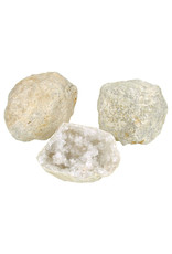 Bergkristal kwarts bol ruw