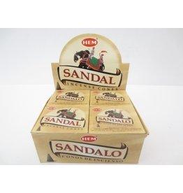HEM Wierook Sandal kegel (sandelhout)  HEM