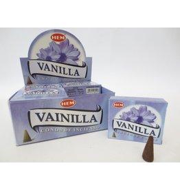 HEM Wierook Vanilla  kegel  HEM