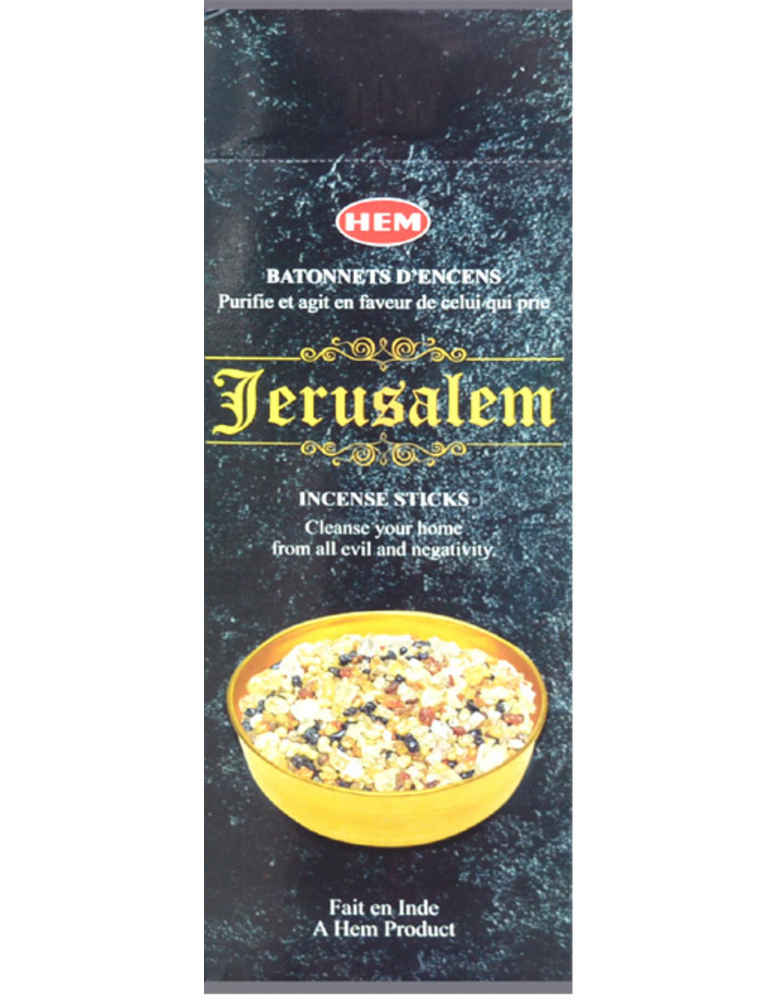 HEM Wierook Jerusalem HEM