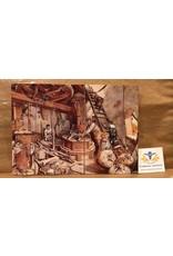 Briefkaart nostalgie molen