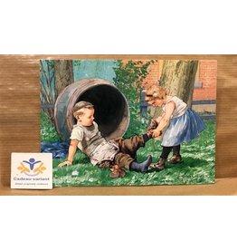 Briefkaart Ot en Sien schoen