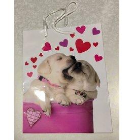 Cadeau tas Valentijn hond