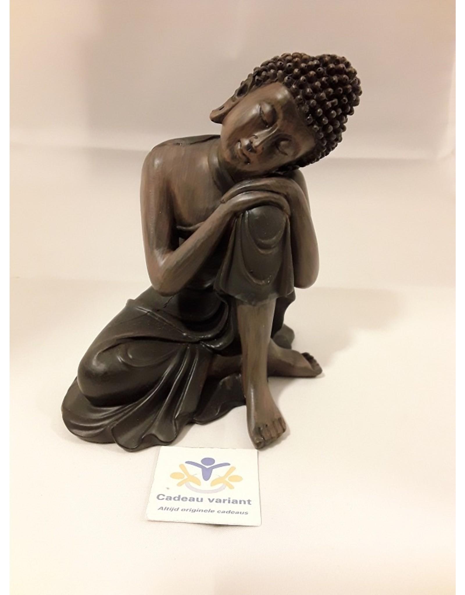 Thaise Buddha zittend A